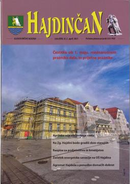Hajdinčan april 2021